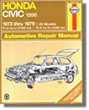 H42020 Haynes Honda Civic 1200 1973-1979 Auto Repair Manual