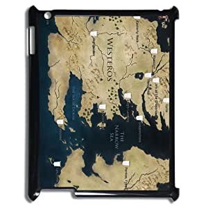 Westeros Map Hot Fashion Hard Case Cover for Ipad 3 4
