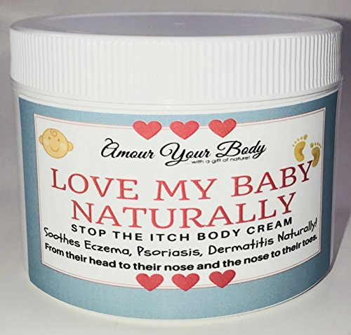 Love Your Baby Naturally (Psoriasis, Eczema, Dermatitis) Body Cream