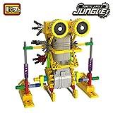 LOZ 3011 Motorial Alien Robot Robotic DIY Building Set Block Toy (Armor Kangaroo), 125 Pcs