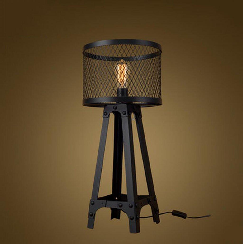 Cdbl-Lampada da comodino Lampada da tavolo, lampada da tavolo da studio, lampada da tavolo da camera da letto soggiorno, lampada da Nordic Iron Lampada da tavolo