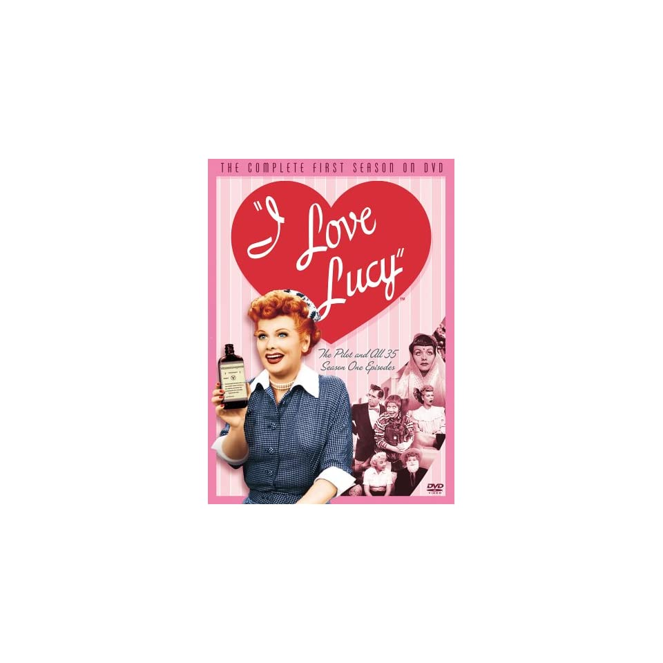 I Love Lucy   The Complete First Season