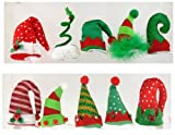 Christmas Hat Barrettes Hair Clip in Assorted Colors, 1 Piece