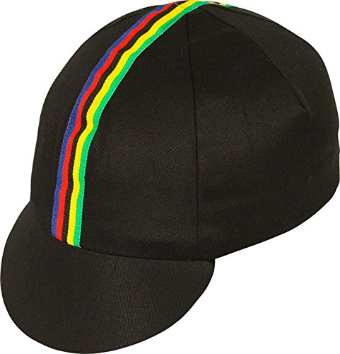 Pace Sportswear Traditional Cycling Cap: Black XL