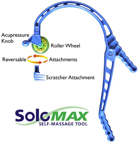Solomax Self Massage Tool By Kelly Kinetics