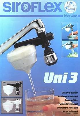 Siroflex uni 3 Cocina filtro purificador de agua con el grifo ...