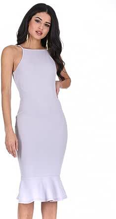 Nude Bodycon Midi Dress: Fashion Week Collections - 24 Dressi