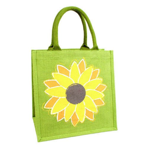 Bag Fairtrade Bag Shopping Jute Sunflower xqvwgHpH0
