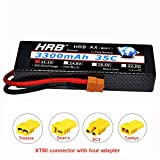 HRB 3S 11.1V 3300mAh 35C Max 70C hard case RC Lipo Battery For RC Traxxas Cars Boat Truck Buggy Truggy(EC3 Deans Traxxas Tamiya