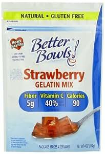 Amazon.com : Better Bowls Natural Strawberry Gelatin