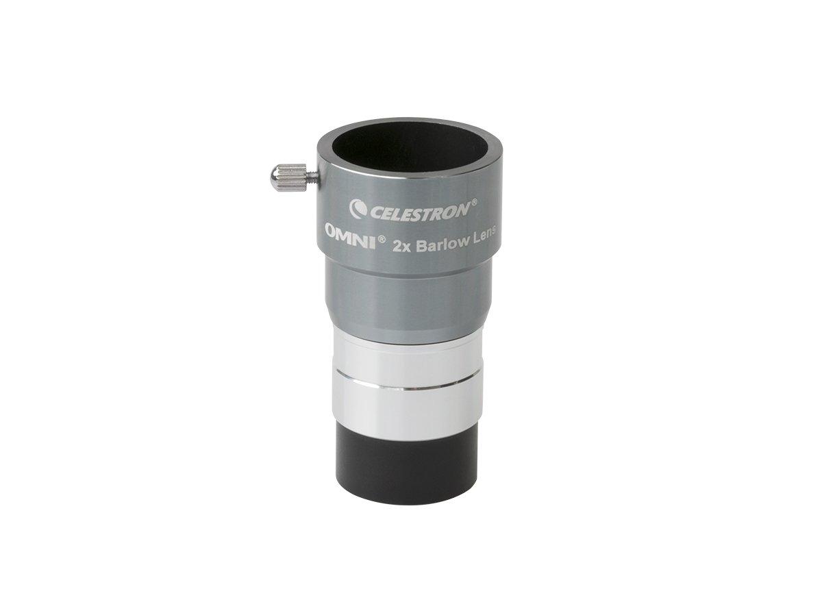 Celestron Omni 2X Barlow Lens 93326