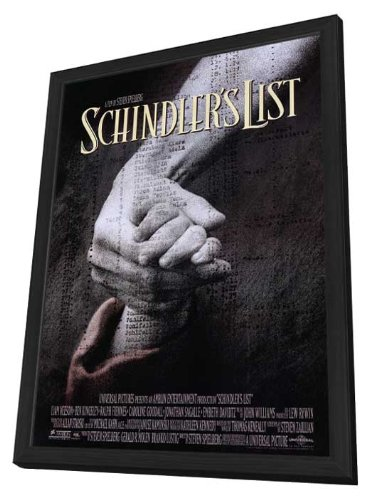 Schindler's List - 27 x 40 Framed Movie Poster
