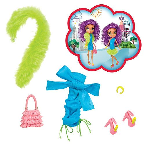 La Dee Da Sloan Fashion Girls Night Out Outfit Accessories Pack (La Dee Da Doll Clothes)