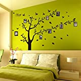 Dagou®, 6ft X 9ft, Large Memory Tree Photo Tree Wall Vinly Decal Decor Sticker Removable Wall Decal