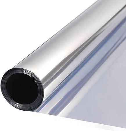 ♣【Aislamiento del Calor】El vinilo refleja un 85% de la radiación térmica y tiene una protección UV d