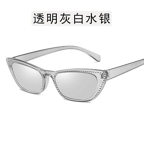 Yangjing-hl Gafas Gafas de Sol imitación Diamante Gafas de ...