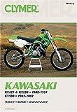 Kawasaki Kx125 & Kx250, 1982-1991 Kx500, 1983-2002 (Clymer Motorcycle Repair)