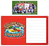 Vacation Bible School (VBS) 2018 Rolling River Rampage Outdoor Banner: Experience the Ride of a Lifetime with God!
