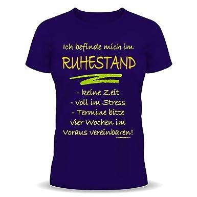 Lustige Rentner Spruche Fun Tshirt Ich Befinde Mich Im Ruhestand