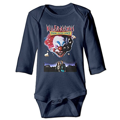 Outfits Space Outer (Killer Klowns From Outer Space Navy Baby Onesie Cute Baby Clothes Baby)