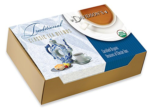 Davidson's Tea Single Serve English Breakfast, 100-Count Tea Bags