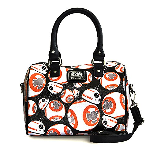 Loungefly x Star Wars: The Force Awakens BB-8 Duffle Bag w/ Detachable Strap by Dufflebag