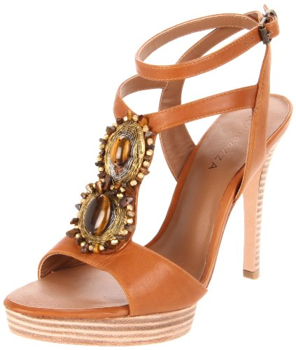 ienne Ankle-Strap Sandal,Natural,39 EU/9 M US (Apepazza Leather Sandals)