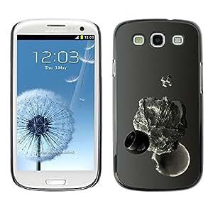 LECELL -- Funda protectora / Cubierta / Piel For Samsung Galaxy S3 I9300 -- Abstract Drop --
