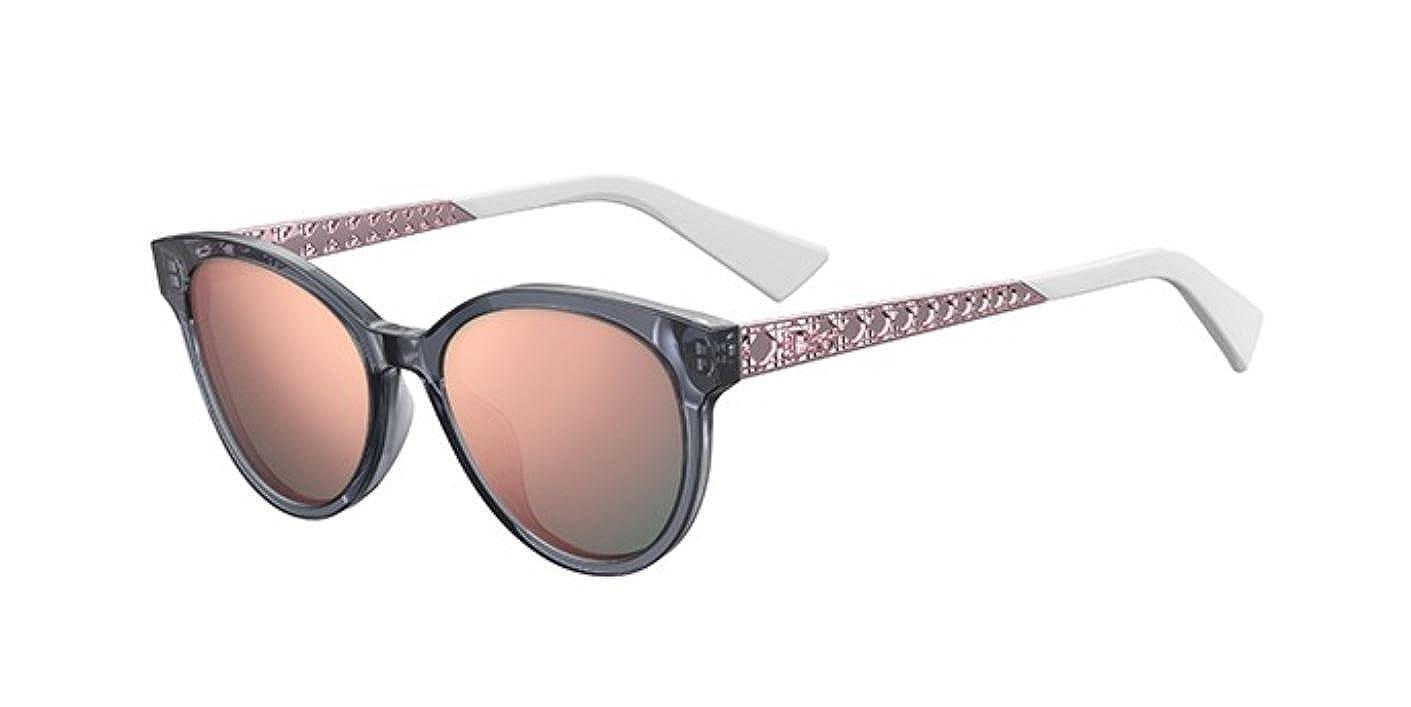 31e44e709bab3 Amazon.com  Authentic Christian Dior Diorama 7 3ZJ 0J Grey Pink Sunglasses   Clothing