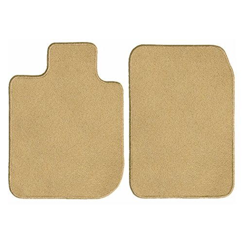 GG Bailey D3371A-F1A-BGE Front Set Custom Fit Floor Mats For Select Buick Rainier Models - Nylon Fiber (Beige) ()