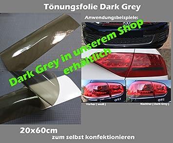 Finest Folia Scheinwerferfolie T/önungsfolie US Style Folie Blinker Nebelscheinwerfer Tint Film Gelb
