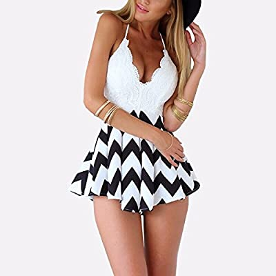 Bikini Boutique Lace and Chevron Beach Dress and cover up, cute summer swimwear 2016