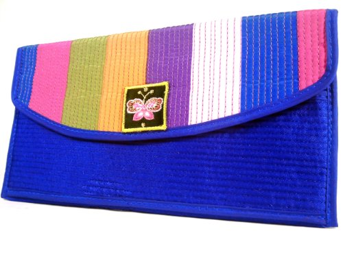 Wallet Bag - Rainbow Blue Wallet by WiseGloves (Handbags Vuitton Cheap Louis)