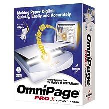 Omnipage Professional X 10 (Mac)