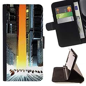 Momo Phone Case / Flip Funda de Cuero Case Cover - Akira Squad;;;;;;;; - Samsung Galaxy Core Prime
