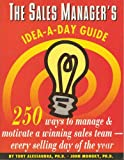 img - for Sales Manager s Idea-A-Day Guide book / textbook / text book
