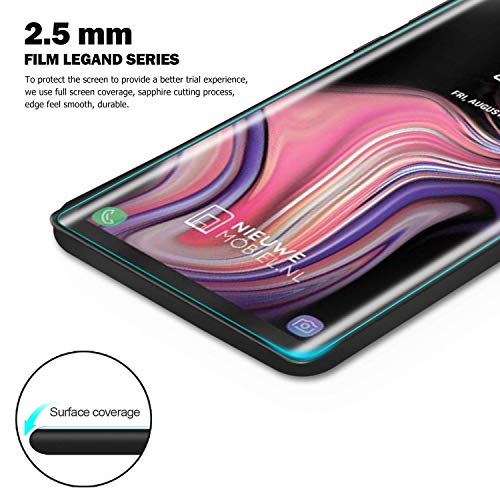 Galaxy Note 9 Screen Protector, Tempered Glass Screen Protector 3D Curved 9H Hardness HD Clear Anti-Scratch Tempered Glass Film Screen Protector Compatible Samsung Galaxy Note 9 (Clear) by my-handy-design (Image #5)