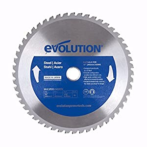 Evolution Power Tools 10BLADEST Steel Cutting Saw Blade, 10-Inch x 52-Tooth