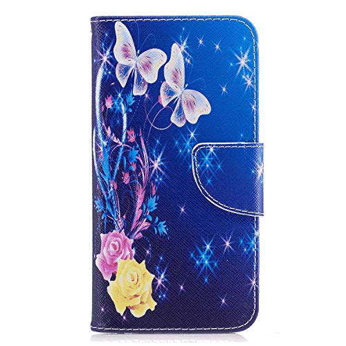 Huawei MATE30 LITE Flip Case, Cover for Huawei MATE30 LITE Leather Cell Phone Cover Extra-Durable Business Kickstand Card Holders with Free Waterproof-Bag Fashion