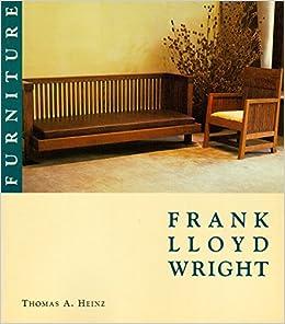 frank lloyd wright furniture portfolio frank lloyd wright portfolio series thomas a heinz amazoncom books