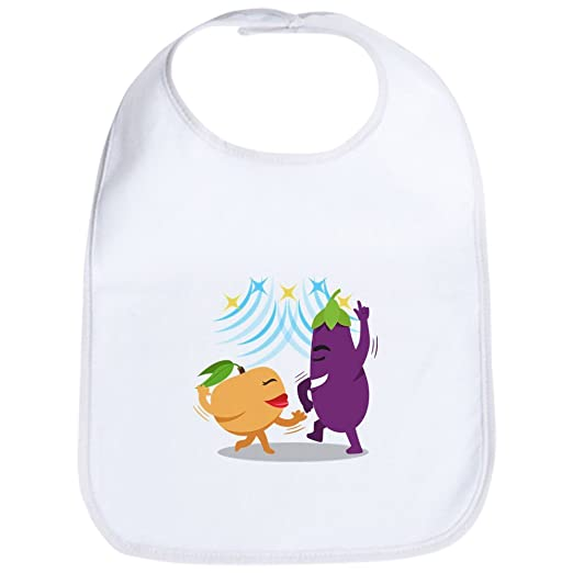 Amazon.com  CafePress Emoji Eggplant Peach Dancing Cute Cloth Baby ... bf3562385