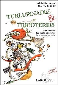 Turlupinades & tricoteries : Dictionnaire des mots obsolètes de la langue française par Alain Duchesne