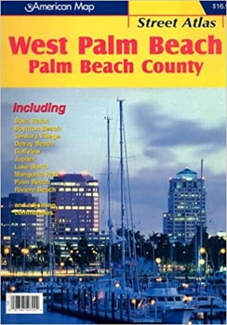 Map Of West Palm Beach Florida.American Map West Palm Beach Fl Street Atlas Palm Beach County