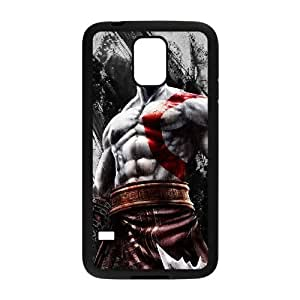 Caja del teléfono celular Funda Samsung Galaxy S5 funda dios Negro de F8N6DD guerra