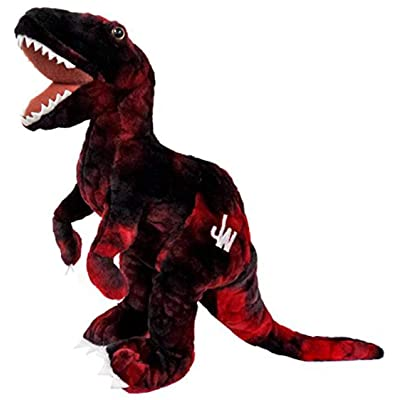 "Jurassic World Velociraptor 12"" Plush [Red]: Toys & Games"