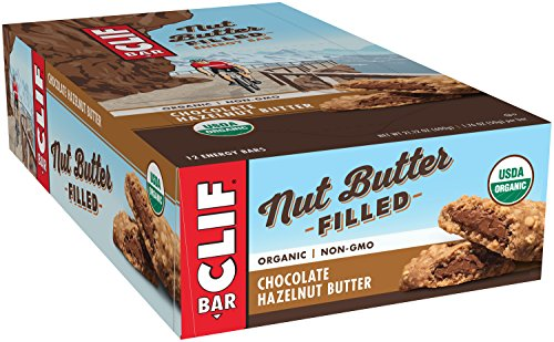 Chocolate Hazelnut Bar (CLIF Nut Butter Filled - Organic Energy Bar - Chocolate Hazelnut Butter - (1.76 Ounce Protein Snack Bar, 12 Count))