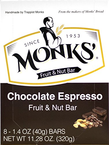 Espresso Bittersweet Chocolate - Monks' Chocolate Espresso Fruit & Nut Bars