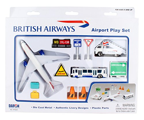 Daron Worldwide Trading RT6001 British Airways Airport Playset