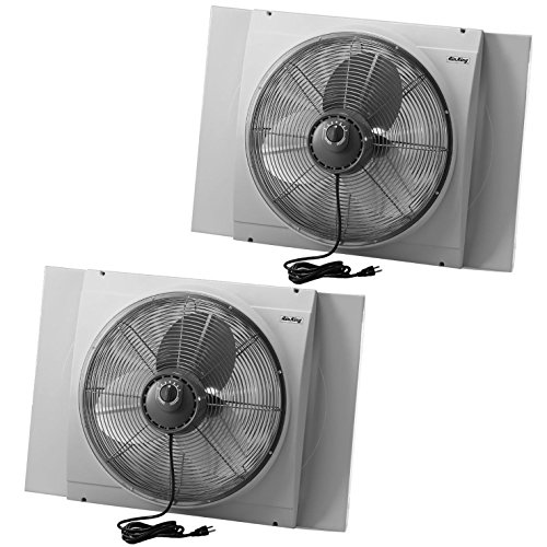 Air King 20 Inch Blades Whole House 120V 3 Speed Window F...