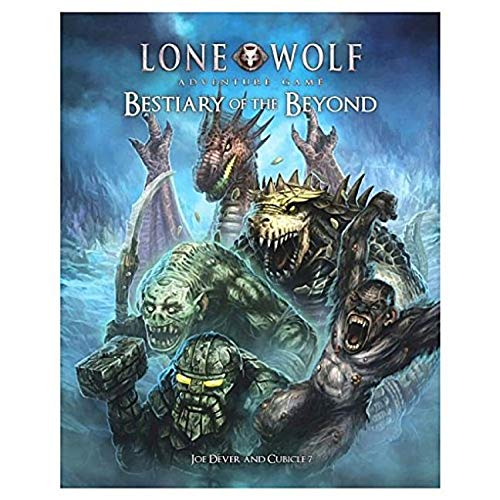Lone Wolf Bestiary of the Beyond (Lone Wolf The Board Game)